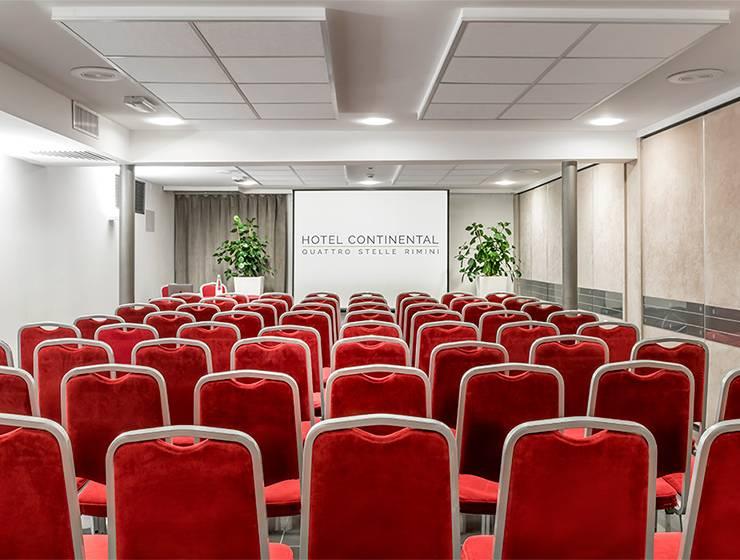 Teatro Fulgor room <br> Sq.m 75 – Max 60 attendees
